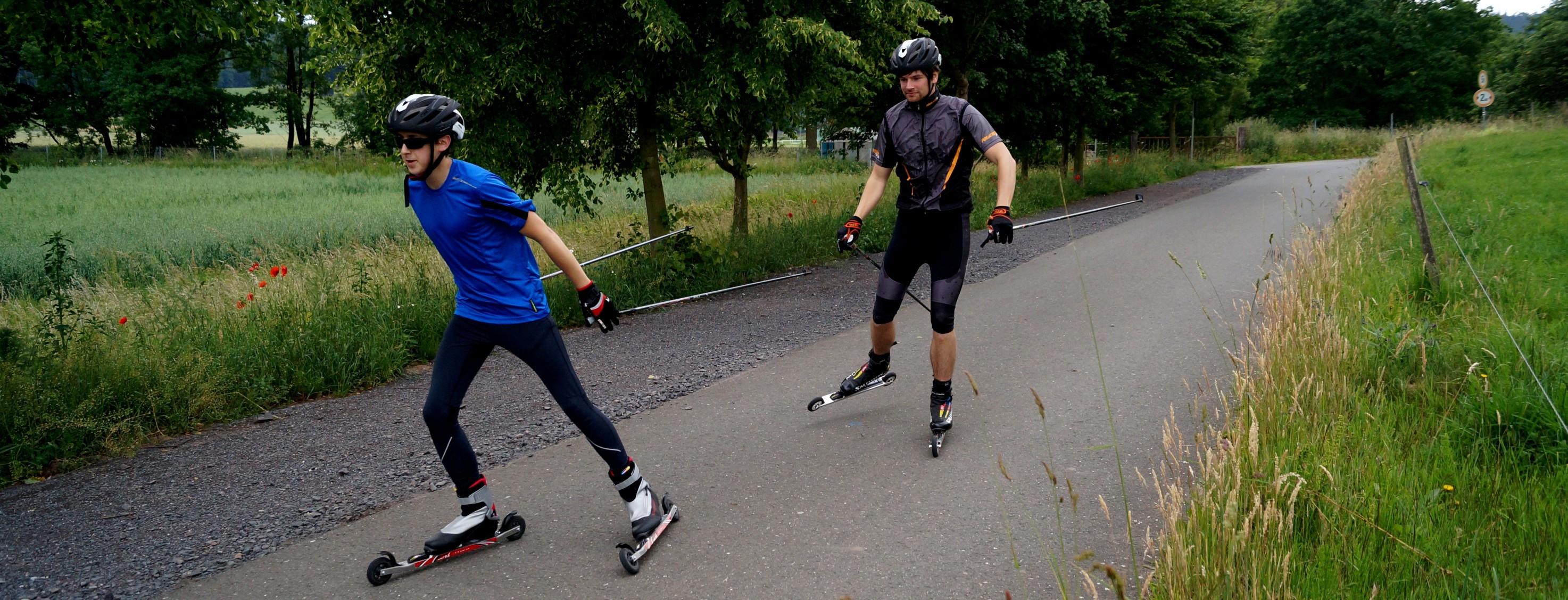 Skirollern in Jena