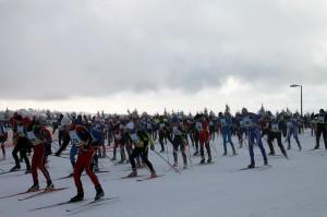 Start_Erzgebirgs-Skimarathon