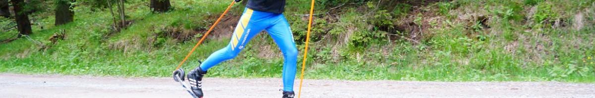 Skiroller-Rollski-Kurs