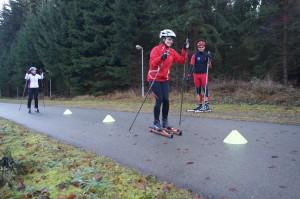 Skiroller-Rollski-Kurse