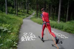 Klassik skirollern in Klingenthal