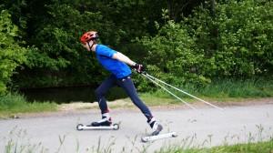 Skirollern im Sommer