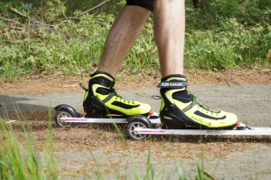 Botas Skirollerschuh in action